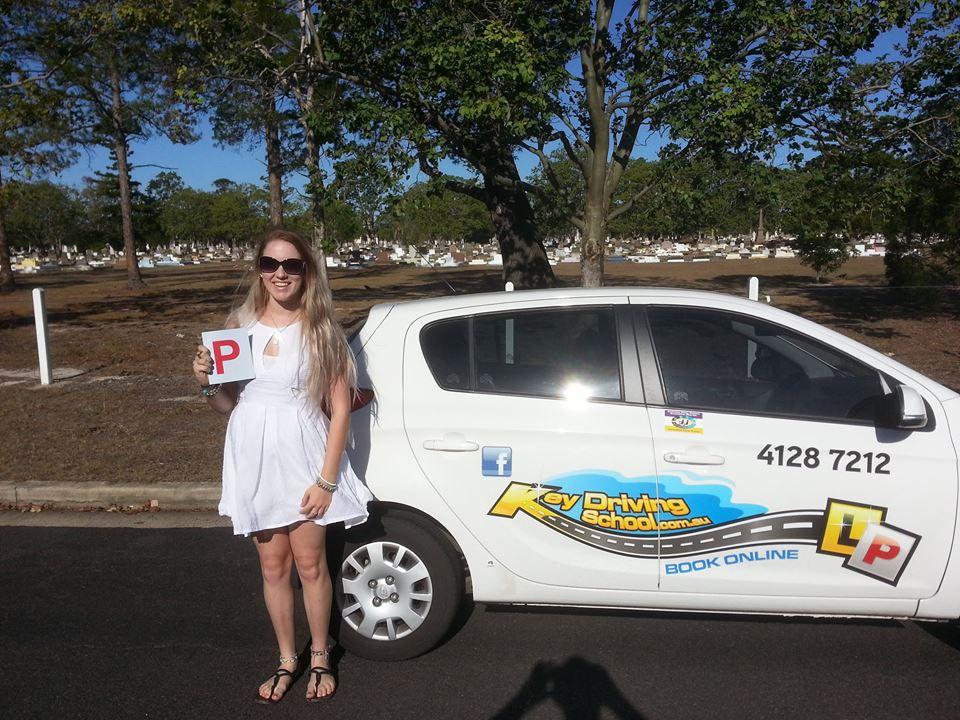 Madi Chapman Success - Key Driving School Hervey Bay